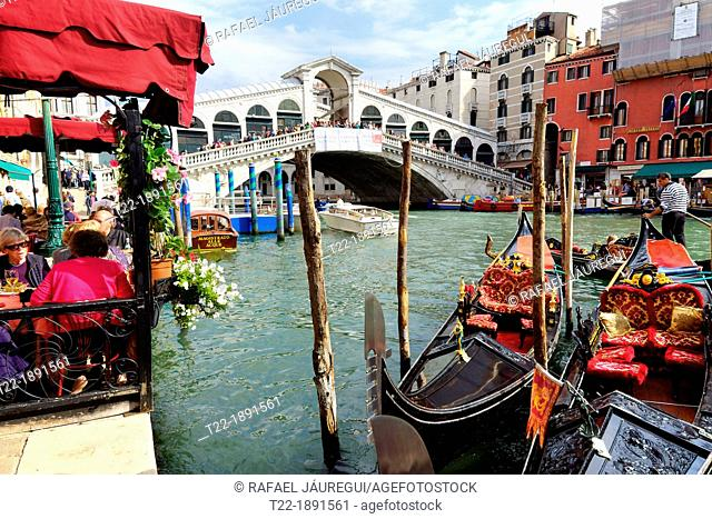 Venice Italy  Grand Canal in Venice