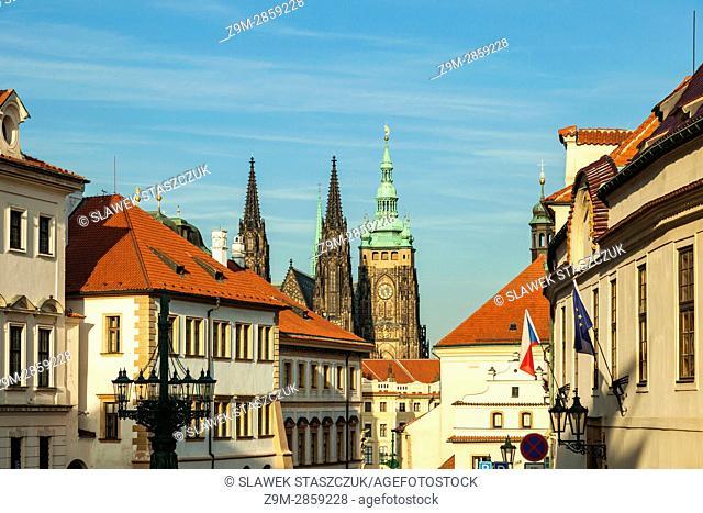 Autumn afternoon at Hradcany, Prague, Czech Republic