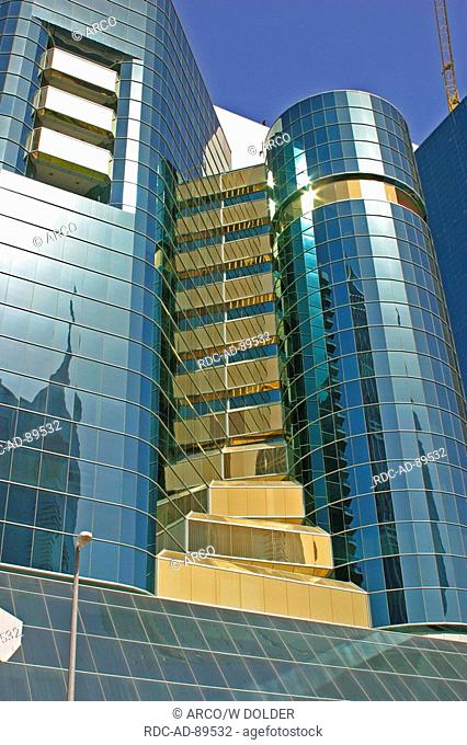 Tower Blocks Jumeira Dubai United Arab Emirates