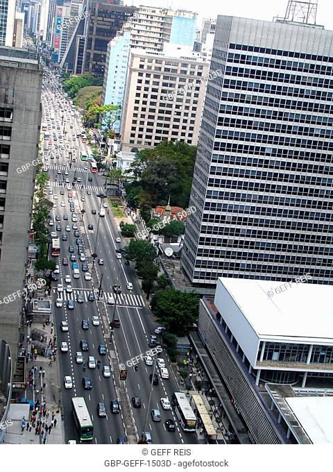 Paulista avenue, São Paulo, Brazil