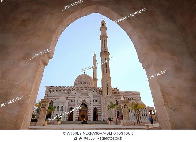 Muslim mosque Al Mostafa, Sharm el-Sheikh, Sinai Peninsula, Egypt