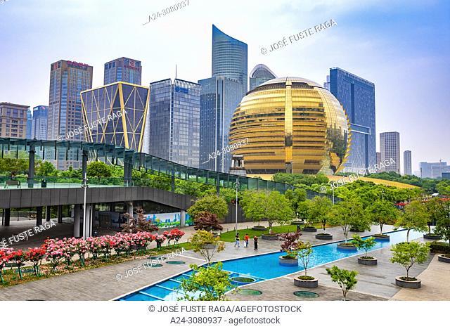 China, Hangzhou City, Jianggan District, Qianjiang New City,Intercontinental Hotel