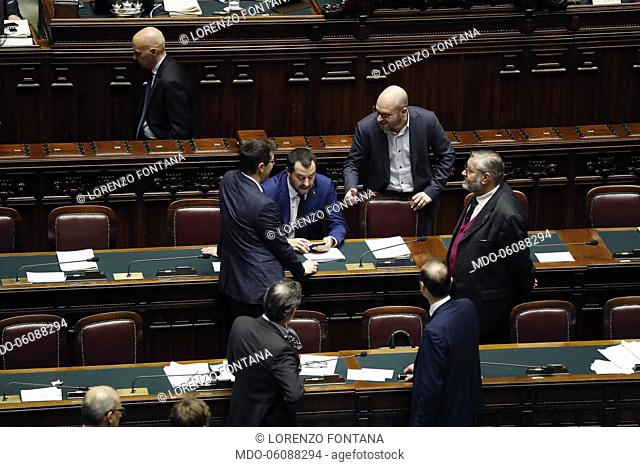 Chamber of Deputies: In the Chamber the vote on the question of Trust placed by the Government on the Security and Immigration decree
