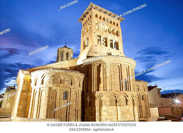 Church of San Tirso in Sahagun, Way of St. James, Leon, Spain