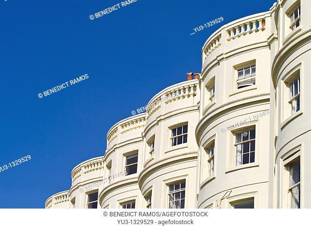 Brunswick Square, Brighton, Sussex, England
