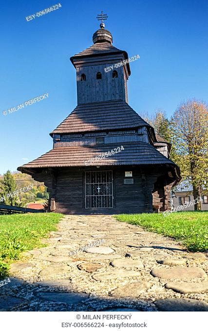 Wooden church of St. Michael the Archangel - Uli?ské Krive