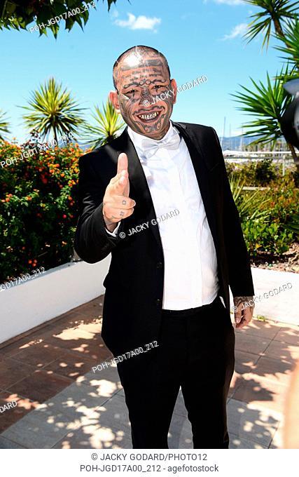 "Photocall of the film """"A Prayer Before Dawn"""" (""""Une prière avant l'aube"""") Panya Yimumphai 70th Cannes Film Festival May 19, 2017 Photo Jacky Godard"