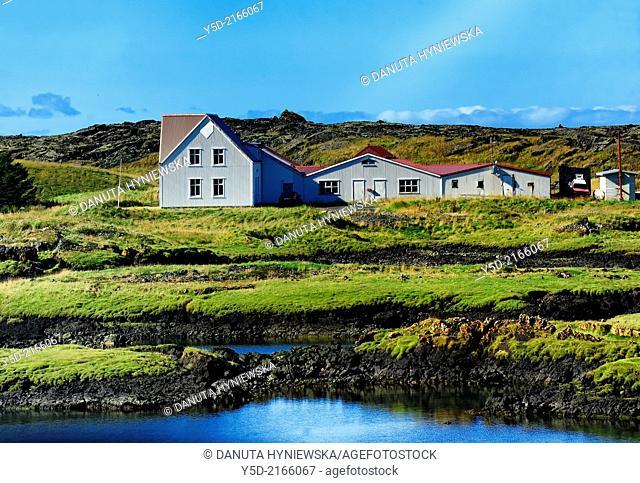 isolated Icelandic farm, Iceland