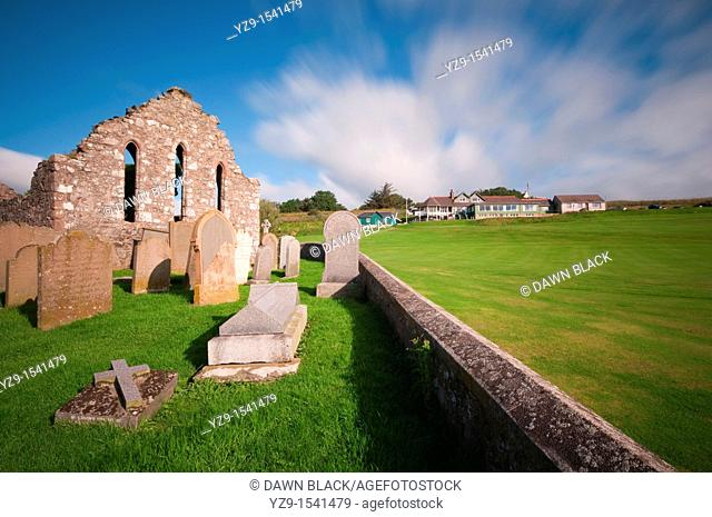 St  Mary of the Storms Church Ruin above Craigeven Bay, Stonehaven, Aberdeenshire, Scotland This 13th century church was built over the original 7th century...