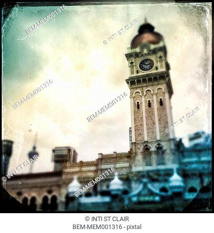 Clocktower in Kuala Lumpur, Malaysia