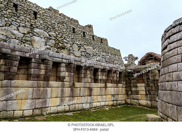 Peru, Cuzco, Old ruins of Machu Picchu