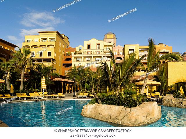 Spain. Canary Islands. Tenerife. Playa de las Americas. Villa Cortes hotel