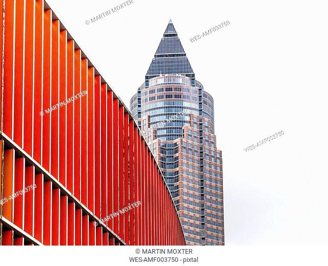 Germany, Frankfurt, Exhibition tower