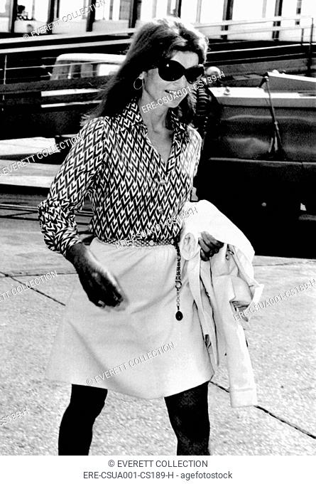 Greece jacqueline kennedy onassis Stock Photos and Images
