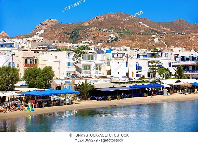 Naxos  Chora  town Saint Georges Beach  Greek Cyclades Islands Greece