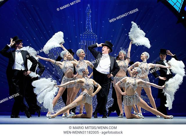 An American in Paris Photocall held at Dominion Theatre Featuring: Haydn Oakley, Robert Fairchild Where: London, United Kingdom When: 14 Mar 2017 Credit: Mario...