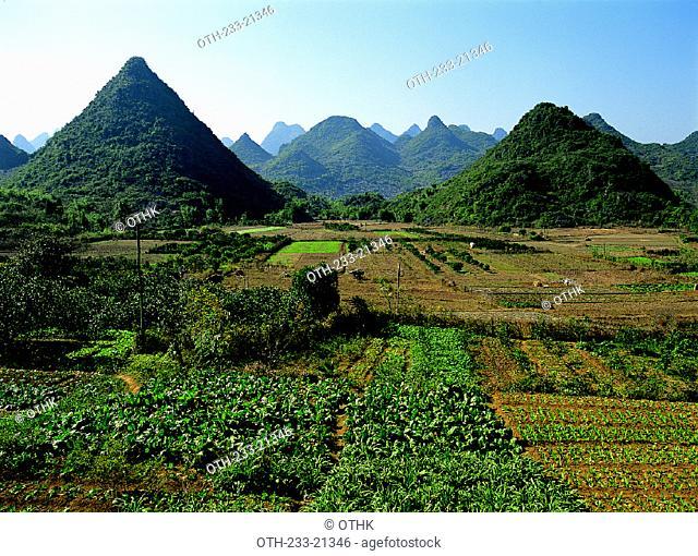 Farmland, Guilin, China