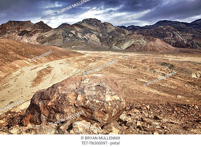 USA, California, Death Valley, barren landscape
