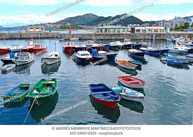 Port of Castro Urdiales, Cantabria Spain