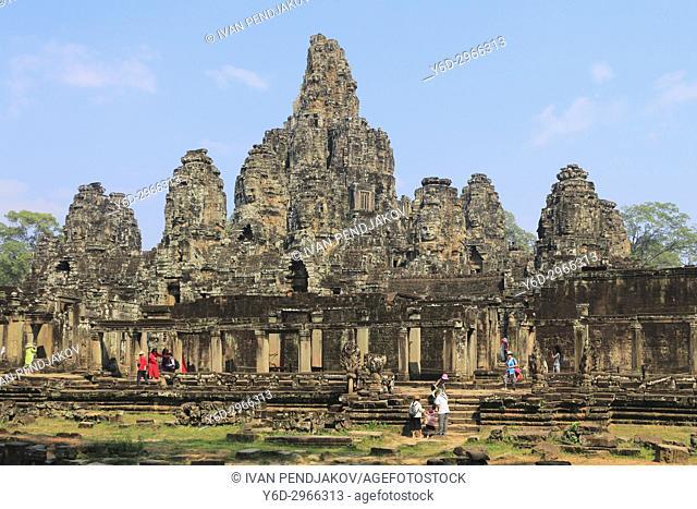 The Bayon, Angkor Thom, Cambodia