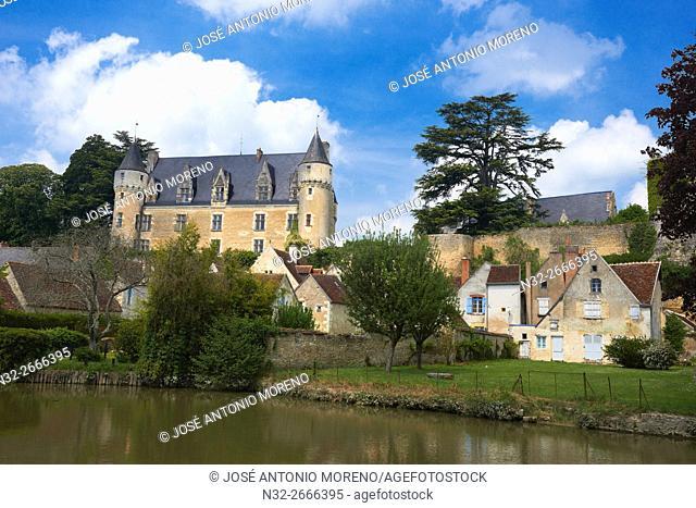 Montresor, Castle, Labelled Les Plus Beaux Villages de France, The Most Beautiful Villages of France, Indre-et-Loire, Pays de la Loire, Loire Valley