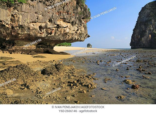 Phra Nang Beach, Krabi Province, Thailand