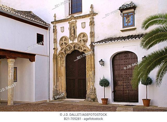 Spain-Cordoba-Andalusia-    Santa Clara Convent (XVIc.) at   Montilla