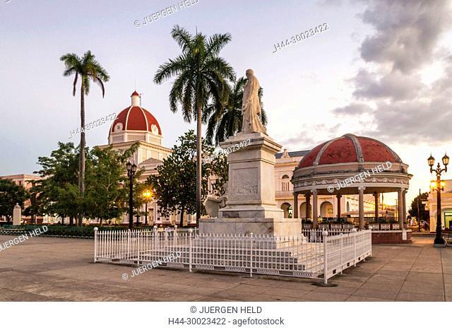 Jose Mart Park, Cienfiegos, Kuba, Westindien
