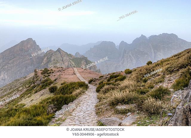 Pico do Arieiro, Madeira, Portugal, Europe