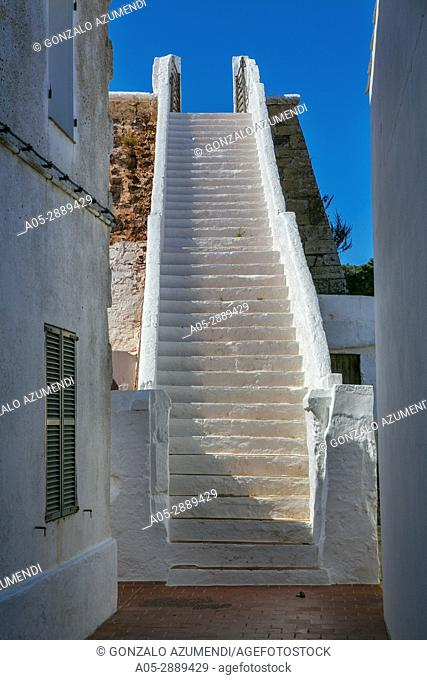 Aljibe or Cistern. Es Mercadal Village. Es Mercadal Municipality. Minorca. Balearic Islands. Spain