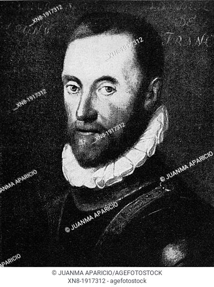 Gaspard de Coligny (16 February 1519 - 24 August 1572), Seigneur Lord de Châtillon, was a French nobleman and admiral, best remembered as a disciplined Huguenot...