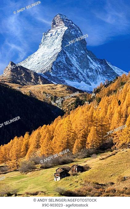 The Matterhorn in Autumn