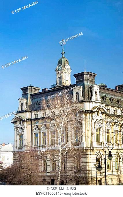 Historical City Hall Building, Nowy Sacz, Poland, Europe