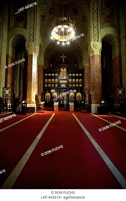 The Orthodox Cathedral of Reunification, Alba Iulia, Transylvania, Romania