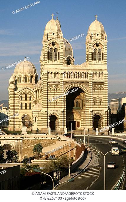 Marseille. France. Cathedrale de la Major. Cathedral of the Major