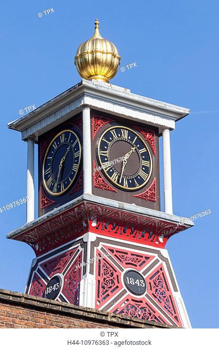 England, Shropshire, Ironbridge, Colbrookdale Museum of Iron, The Museum Clock Tower