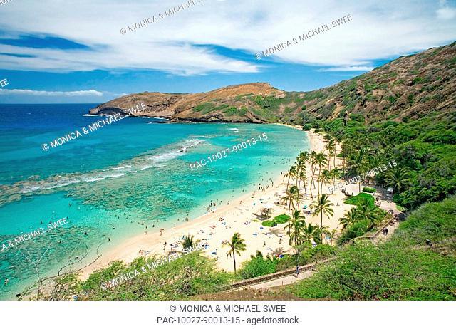 Hawaii, Oahu, Hanauma Bay Nature Preserves