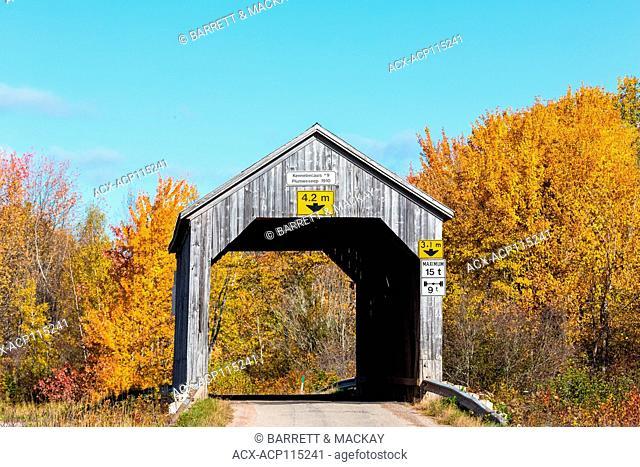 Kennebecasis #9 Covered Bridge, Plumweseep, New Brunswick, Canada