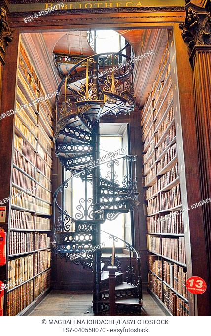 The Old Library, Trinity College, Dublin, Ireland - The Book of Kells 17. 06, 2018
