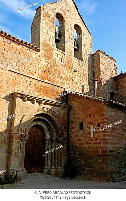 Romanesque Church of Sant Salvador, Concabella, La Segarra, Catalonia, Spain