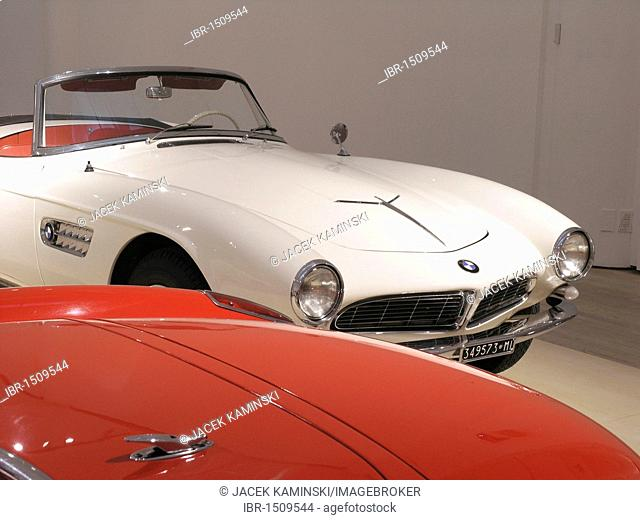 BMW 507, Mitomacchina exhibition, Museum of Modern Art, MART, Rovereto, Italy, Europe