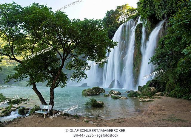 Ban Gioc–Detian Falls, border to China, Cao B?ng Province, North Vietnam, Vietnam