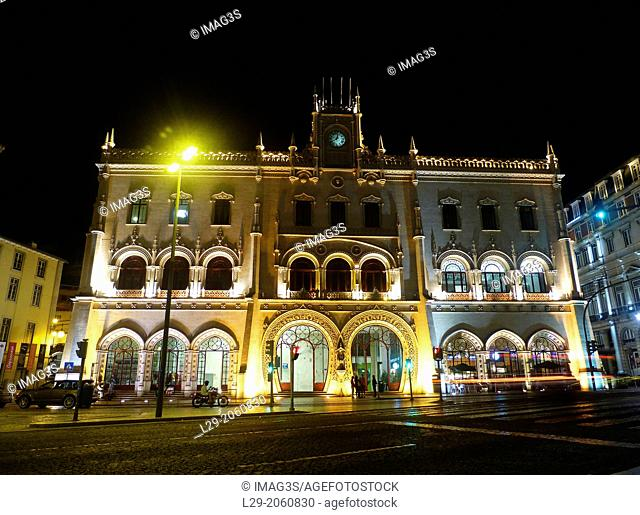 Rossio Station, Lisboa, Portugal