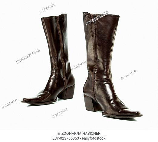 brown cowboy boots for ladies