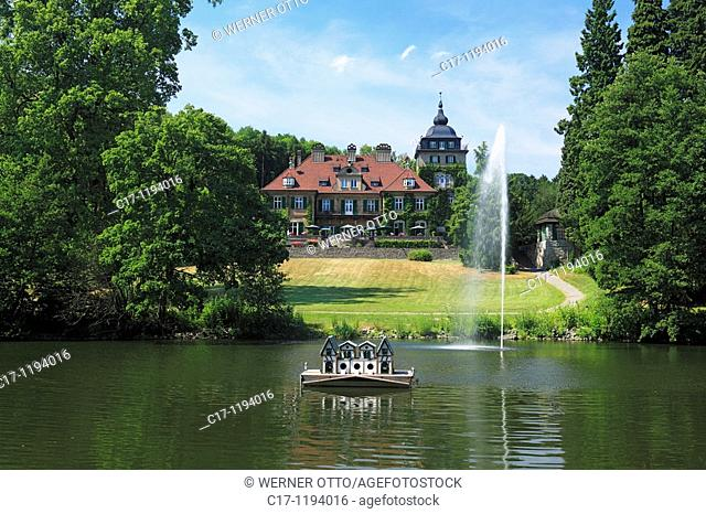 Germany, Bergisch Gladbach, Bergisches Land, North Rhine-Westphalia, castle Lerbach, English country style, European Academy Lerbach