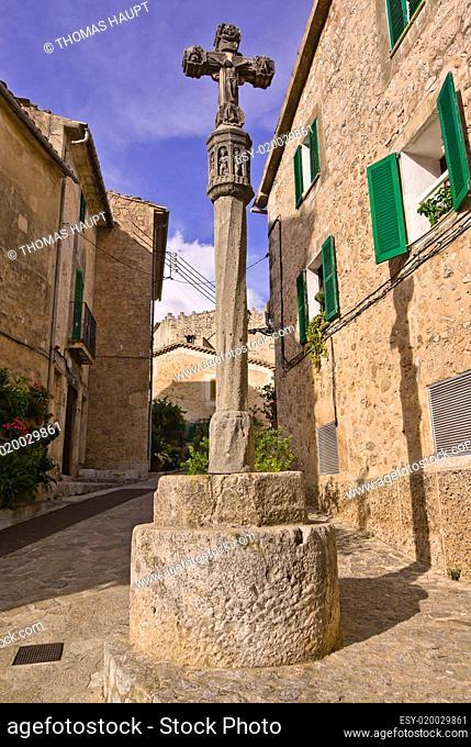 Ansichten aus Valldemossa auf Mallorca