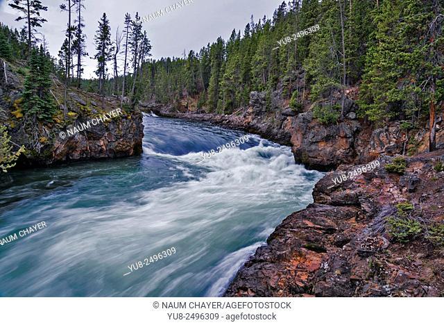 Beautiful landscape, Wyoming, USA