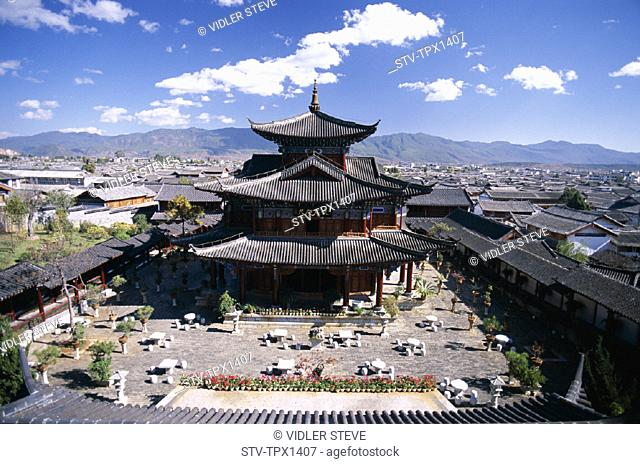 Asia, China, Dynasty, Family, Heritage, Holiday, Landmark, Lijiang, Mansion, Ming, Old town, Province, Tourism, Travel, Unesco