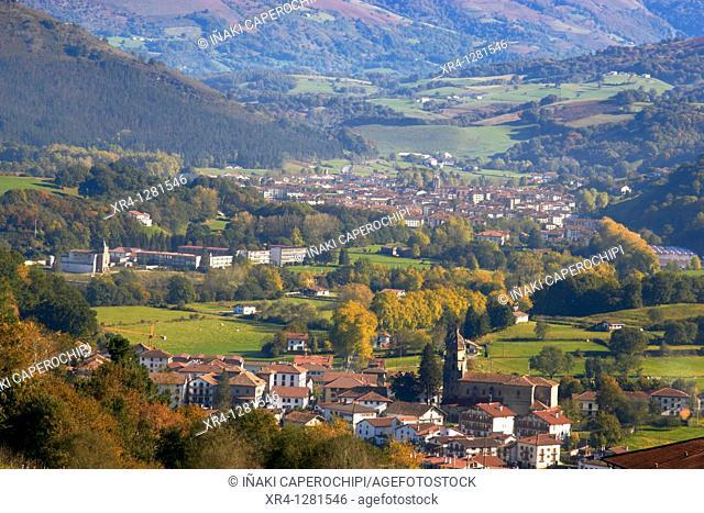 Baztan Valley, Baztan, Elizondo Baztan, Navarra Nafarroa, Spain España