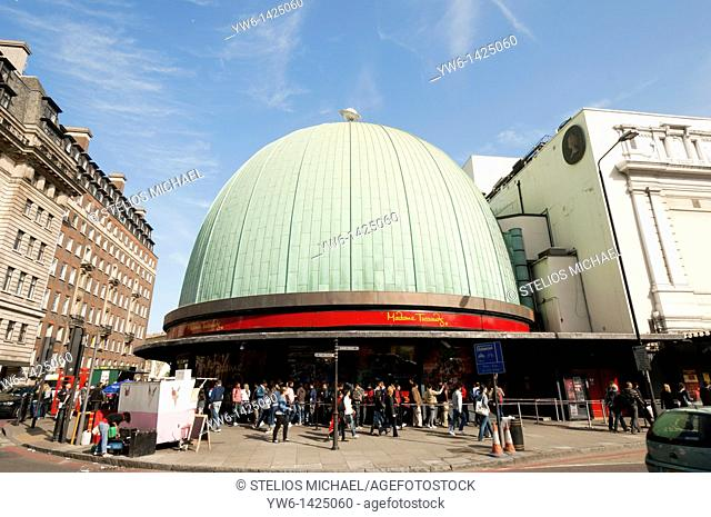 Madame Tussauds in London,England